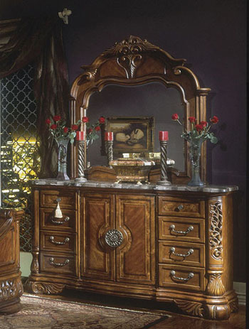 AICO Excelsior Dresser and Mirror