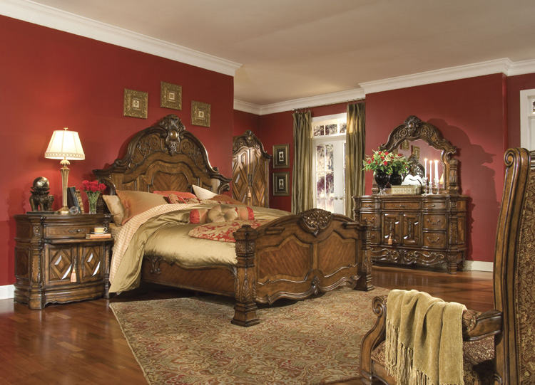 AICO Windsor Court Bed Set
