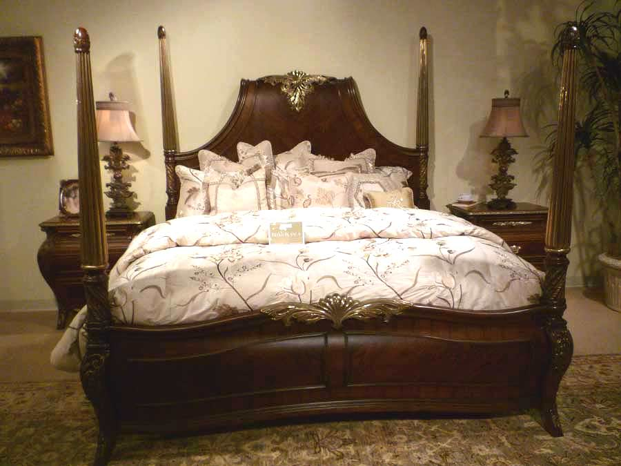 AICO Imperial Court Bed Set