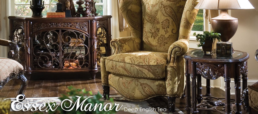 Exceptionnel Essex Manor Console Model #: Aico Essex Manor